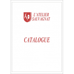 Catalogue de l'Atelier Sauvagnat, couverture