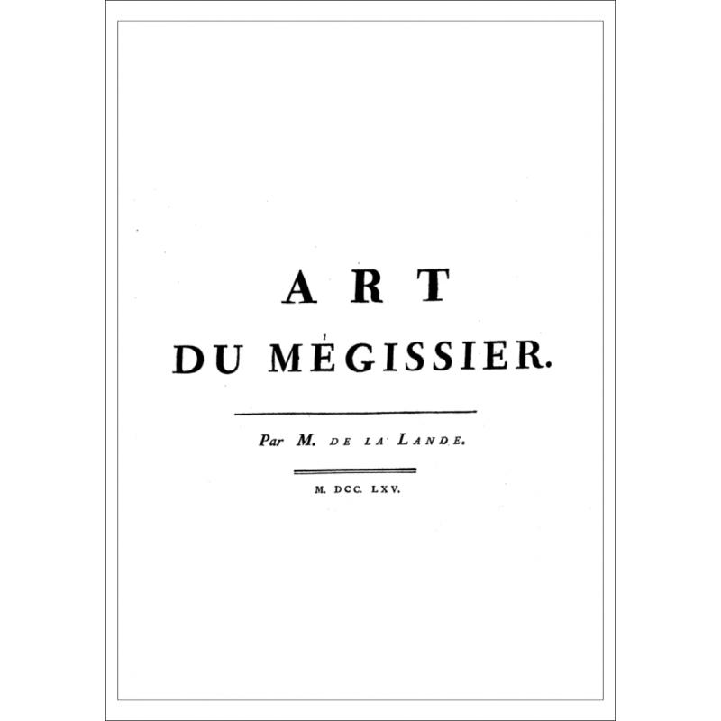 L'art du mégissier, par Jérôme de Lalande