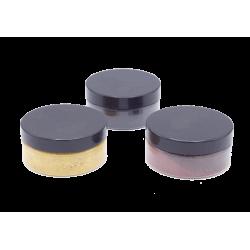 Oxydes de Fer micronisé Noir, Jaune, Rouge. Pot de 50 gr net.