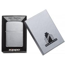 Zippo 1941 Replica Black Ice dans sa boîte