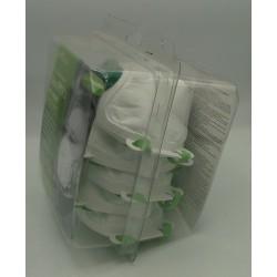 Masque anti-particules FFP2 pour protection respiratoire, boîte de 5 masques