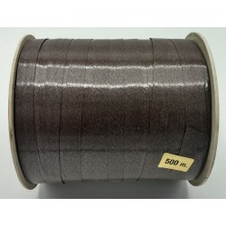 Bolduc MARRON largeur 10 mm, bobine de 500 mètres