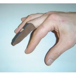 Protège doigt en cuir (doigtier)