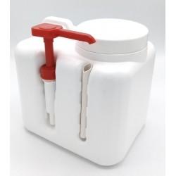 Savon crème avec microbilles avec pompe intégrée