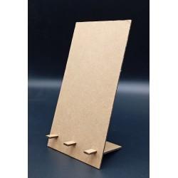 Porte-livre (Chevalet de présentation version large, en medium épaisseur 3 mm)