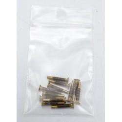 Vis laiton pour coutellerie, sachet de 12 pièces