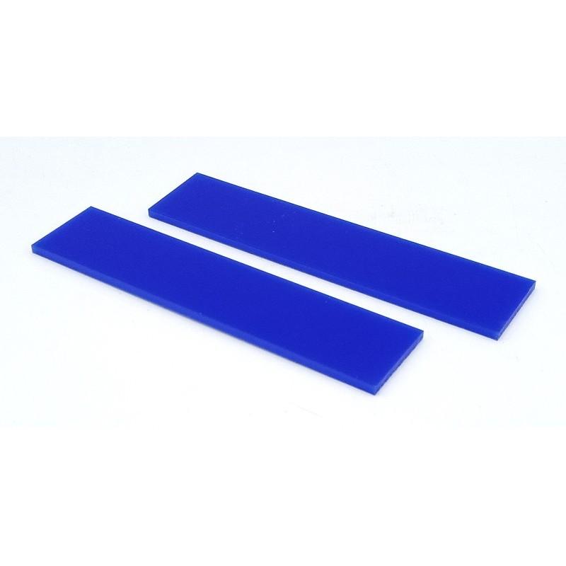 Plaquette Acrylique Bleu