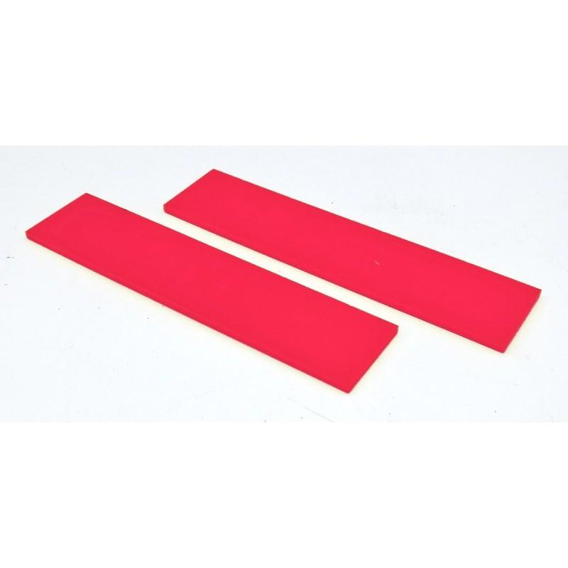 Plaquette Acrylique Rouge