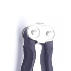 Tête réversible : un côté casse-noix, un côté casse-noisettes