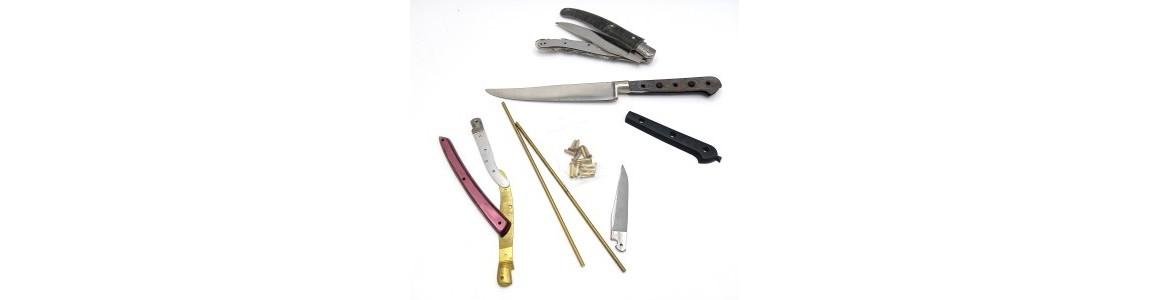 Montage de couteaux